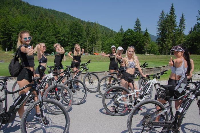 e kolesarjenje na Jasni