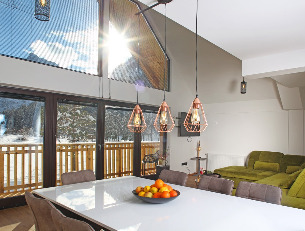Deluxe Duplex Suite with Sauna and Panoramic Mountain View